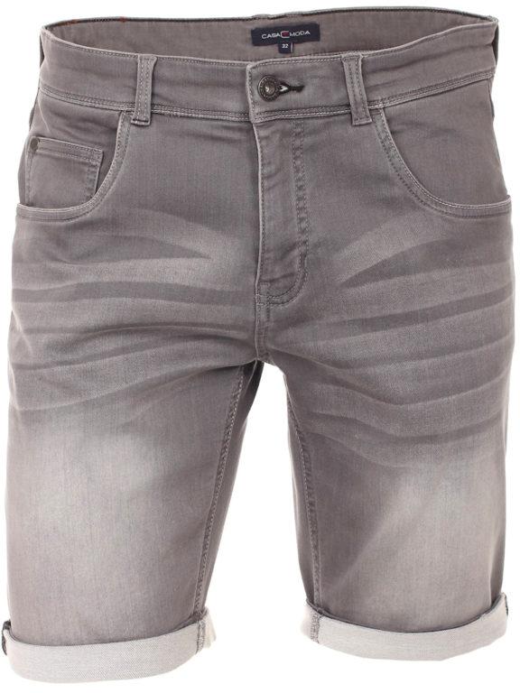 Casa Moda korte broek met stretch Grijs 593198500 (2)