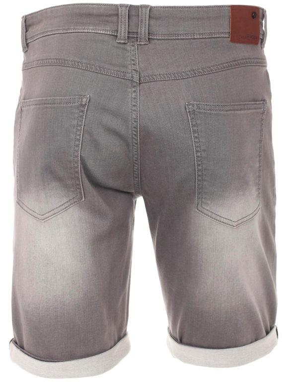 Casa Moda korte broek met stretch Grijs 593198500 (4)