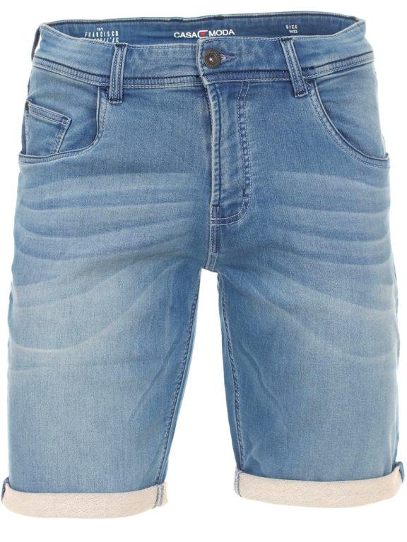 Casa Moda korte broek met stretch blauw 513648900-126 Bendelli (1)