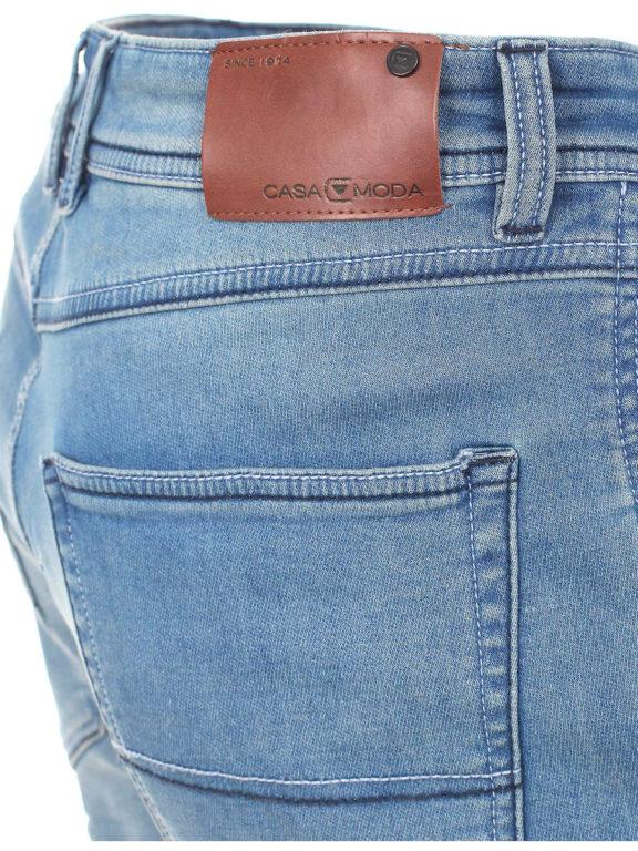 Casa Moda korte broek met stretch blauw 513648900-126 Bendelli (4)