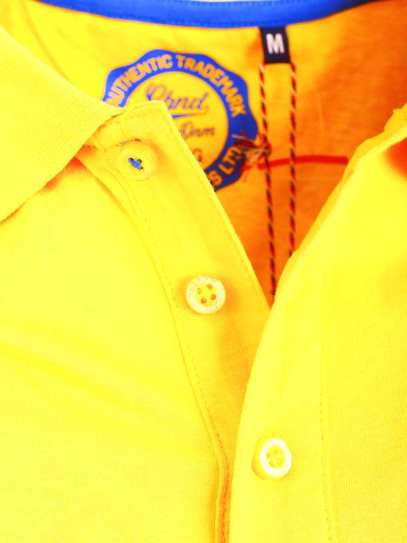 E-bound Polo Shirt Heren Met California Pacific Print Geel 145930.H.PO (6)