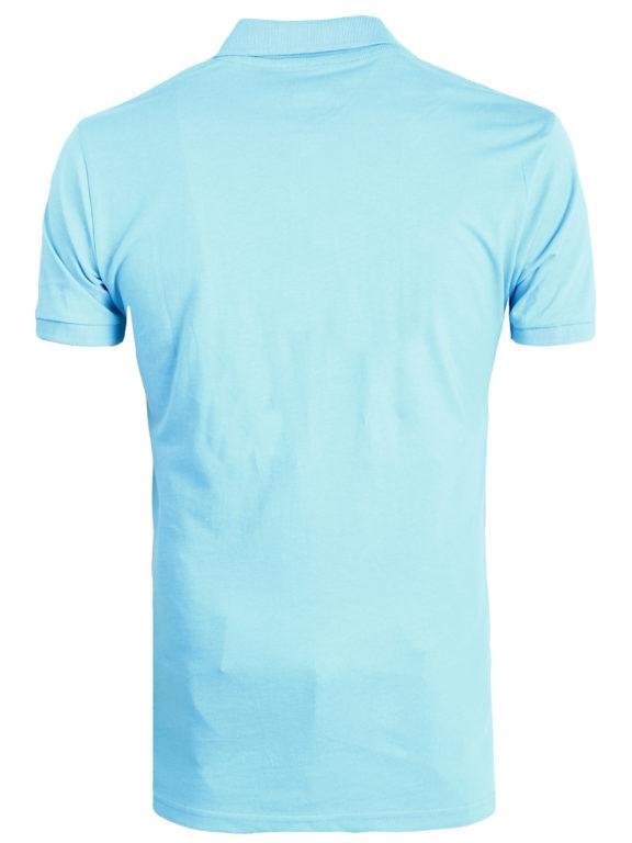 E-bound Polo Shirt Heren Met California Pacific Print Lichtblauw 145930.H.PO (1)