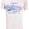 E-bound T-shirt Heren Met California Pacific Print Grijs 145443.H (2)