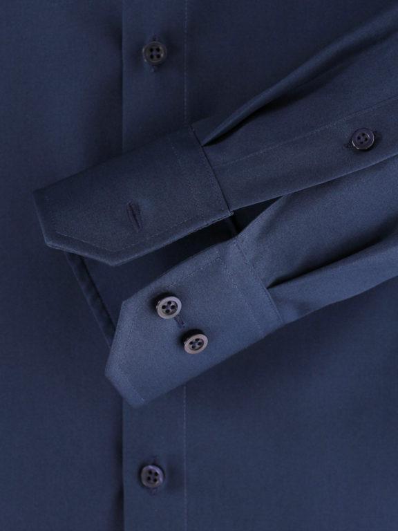 Venti overhemd blauw Modern fit strijkvrij kent kraag basis blouse 001480 (5)