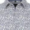 Venti overhemd met vlinder motief blauw kent kraag 113600600 (1)