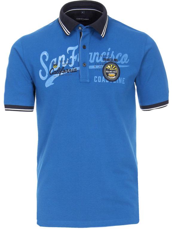 Casa Moda polo shirt Kobalt San Franciso Coast California 913594400-145 Bendelli (5)