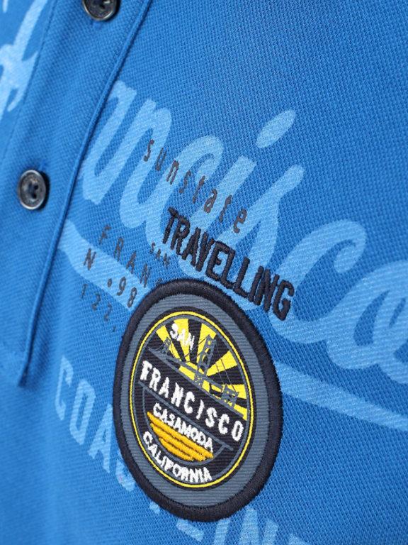 Casa Moda polo shirt Kobalt San Franciso Coast California 913594400-145 Bendelli (7)