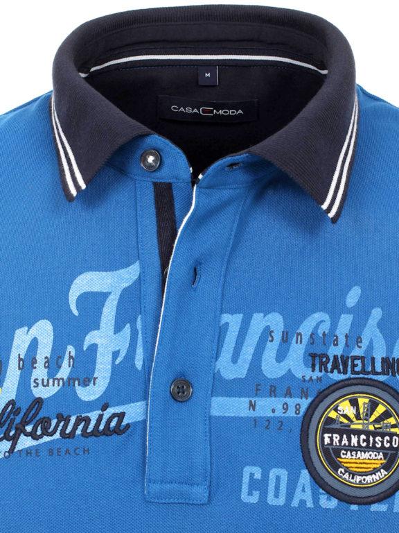 Casa Moda polo shirt Kobalt San Franciso Coast California 913594400-145 Bendelli (9)
