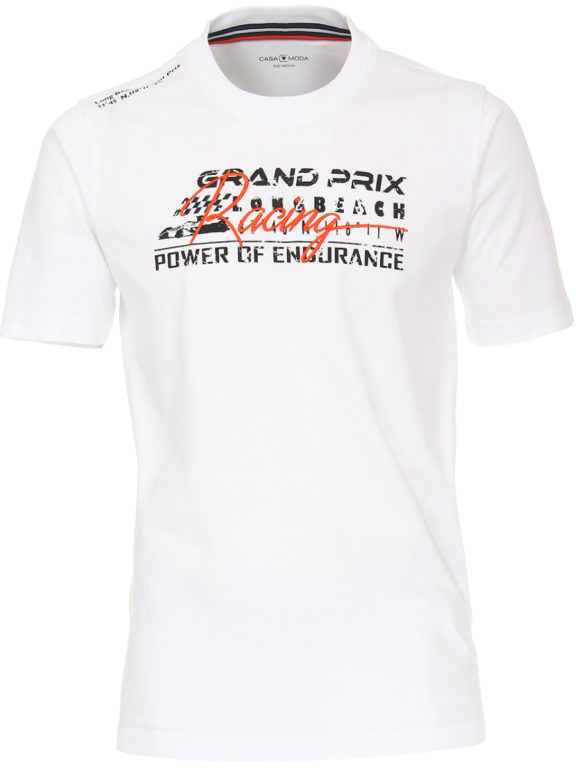 Casa Moda racing t-shirt wit audi grand prix 913675300-000 (2)