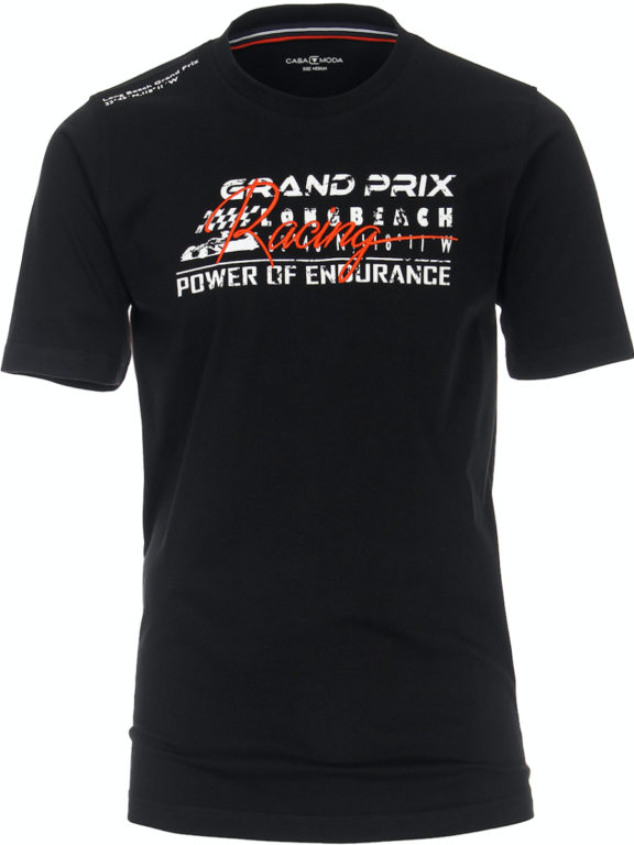 Casa Moda racing t-shirt zwart audi grand prix 913675300-800 (5)