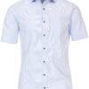 Korte mouw blouse Venti met bloemenprint in de boord 613659700-100 (4)