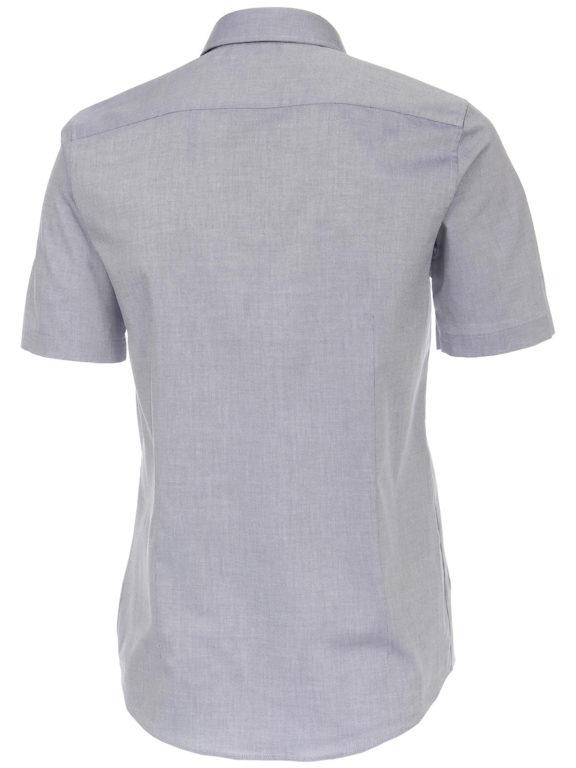 Venti overhemd korte mouw blauw met bloemenprint in de boord 613685000-100 (1)