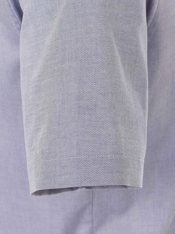 Venti overhemd korte mouw blauw met bloemenprint in de boord 613685000-100 (4)