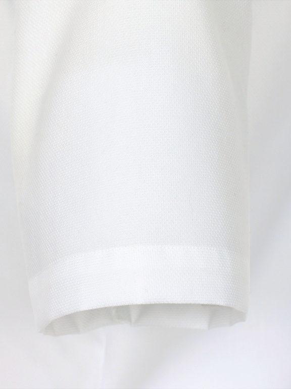 Venti overhemd korte mouw wit met bolletjes print strijkvrij 613658600 (2)