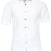 Venti overhemd korte mouw wit met bolletjes print strijkvrij 613658600 (3)
