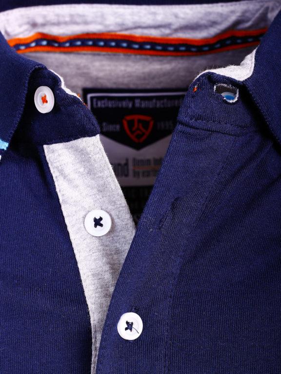 E-Bound polo shirt Blauw heren Melbourne to Devenport 147209.H.PO (2)