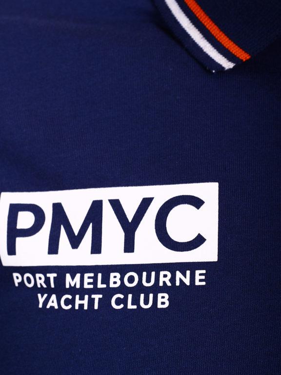 E-Bound polo shirt heren Melbourne Yacht Club bio katoen blauw 147196.H.PO (3)