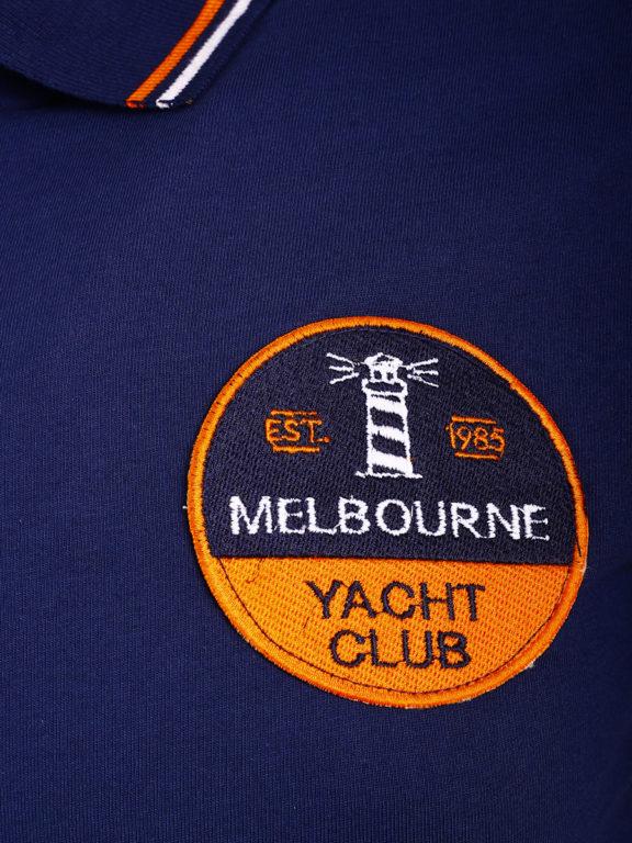 E-Bound polo shirt heren Melbourne Yacht Club bio katoen blauw 147196.H.PO (4)
