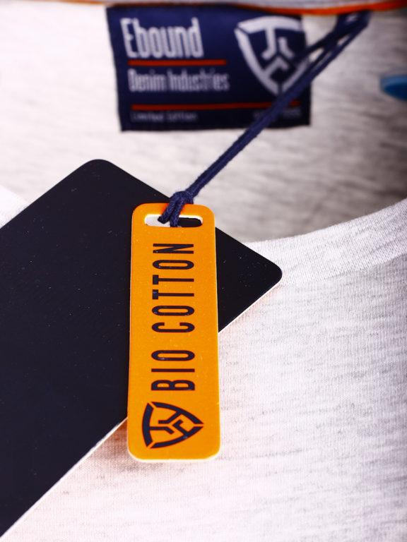 E-Bound shirt korte mouw ronde hals Melbourne Yacht Club grijs 147294.H.TS (1)