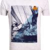 E-Bound shirt korte mouw ronde hals Melbourne Yacht Club grijs 147294.H.TS (2)