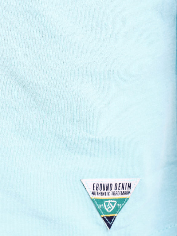 E-Bound shirt ronde hals California sunset beach blauw 145785.H.TS (6)