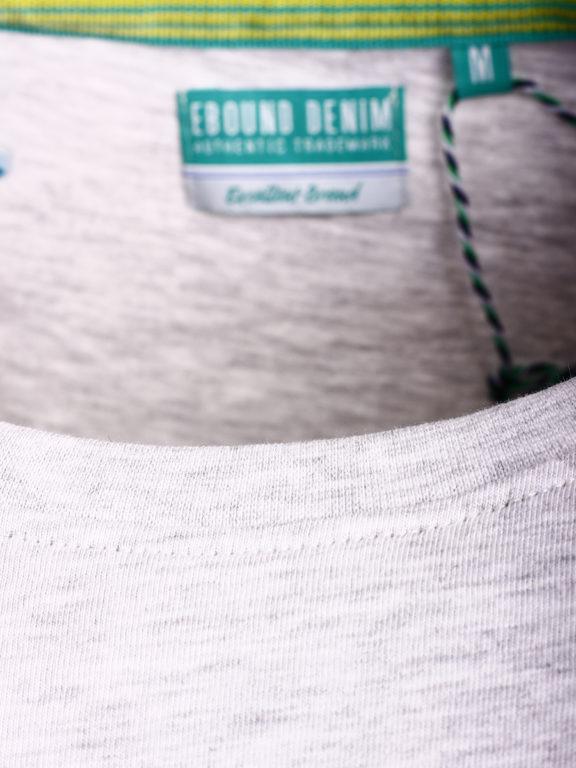 E-Bound shirt ronde hals California sunset beach grijs 145785.H.TS (1)