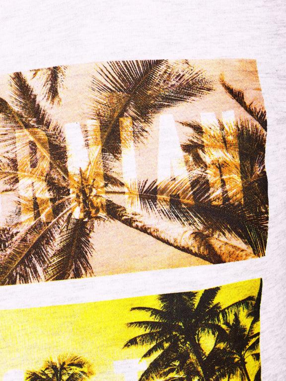 E-Bound shirt ronde hals California sunset beach grijs 145785.H.TS (4)