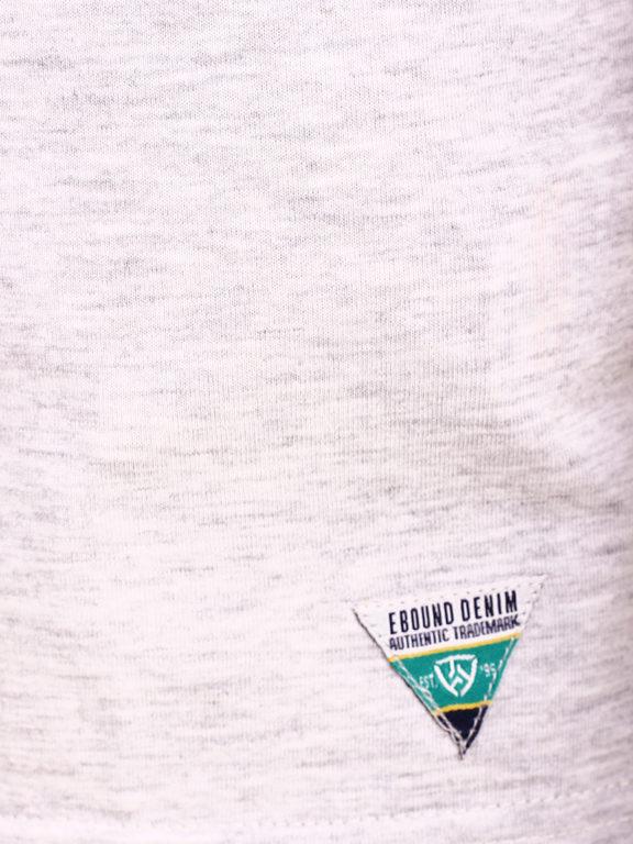 E-Bound shirt ronde hals California sunset beach grijs 145785.H.TS (6)