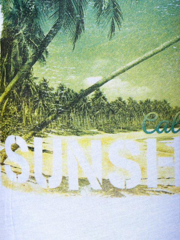 E-Bound t-shirt Sunshine California beach blauw 145238.H.TS (5)