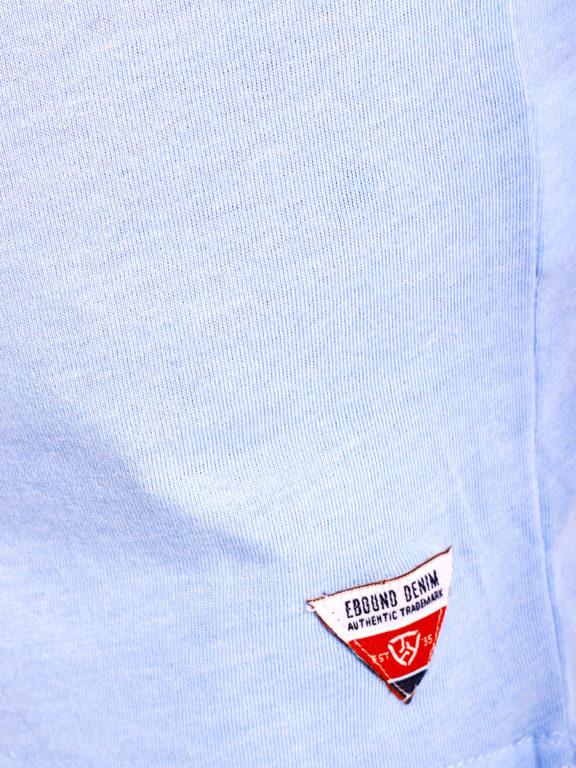 E-Bound t-shirt Sunshine California beach blauw 145238.H.TS (7)