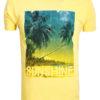 E-Bound t-shirt Sunshine California beach geel 145238.H.TS (2)