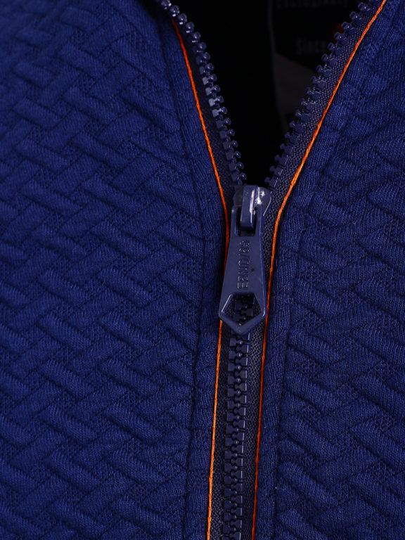 E-Bound vest met opstaande kraag Melbourne Yacht Club blauw 147266.H.CS (5)