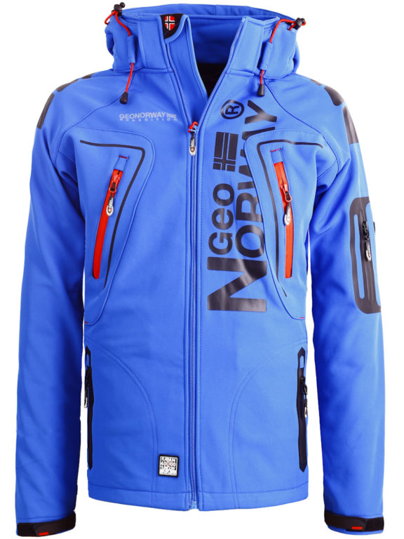 Geographical Norway Softshell jas heren Kobalt Techno men Softshell jacks (2)