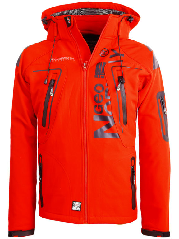Geographical Norway Softshell jas heren Rood Techno men Softshell jacks (2)