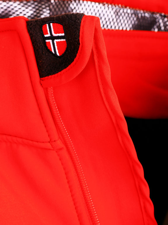 Geographical Norway Softshell jas heren Rood Techno men Softshell jacks (5)
