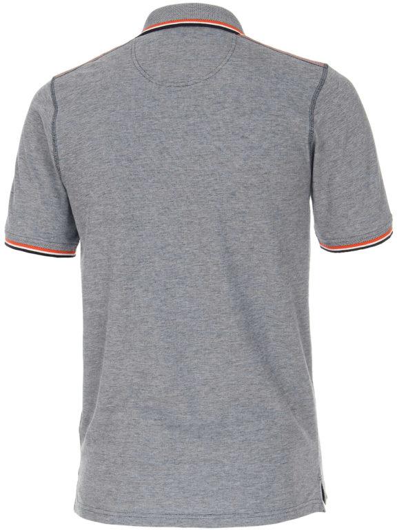 Casa Moda polo shirt Santa Monica Ocean beach met print blauw 913672500-147 (3)
