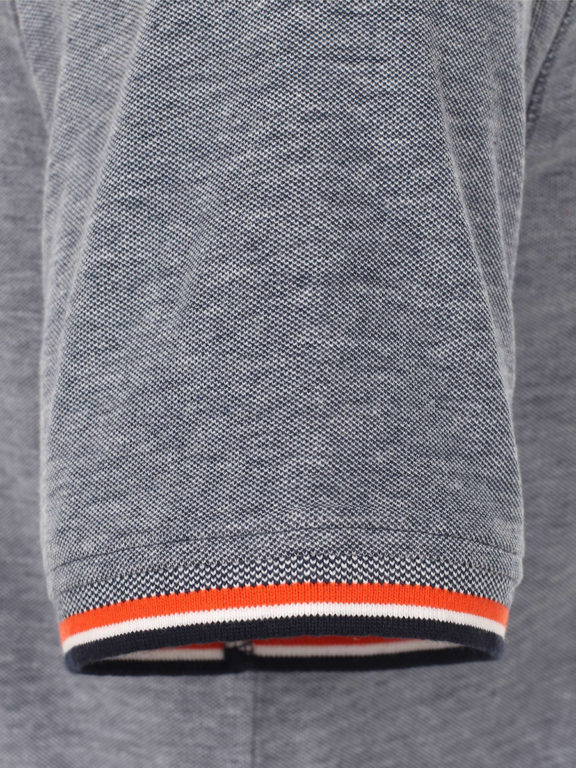 Casa Moda polo shirt Santa Monica Ocean beach met print blauw 913672500-147 (5)