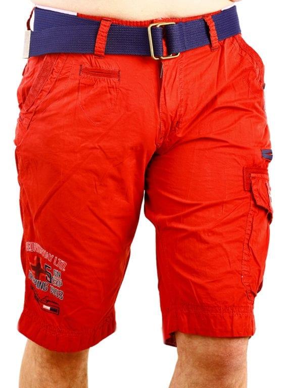 Geographical Norway korte broek rood opbergzakken met print Parodie (2)