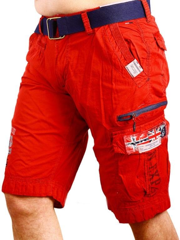 Geographical Norway korte broek rood opbergzakken met print Parodie (3)
