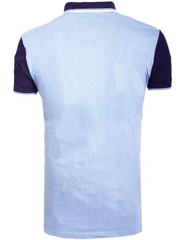 E-Bound polo shirt heren Air Force Del Rio Texas 100 procent katoen blauw 145296 (9)