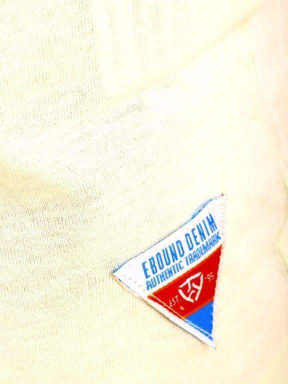 E-Bound shirt ronde hals California Malibu beach groen145284 (8)