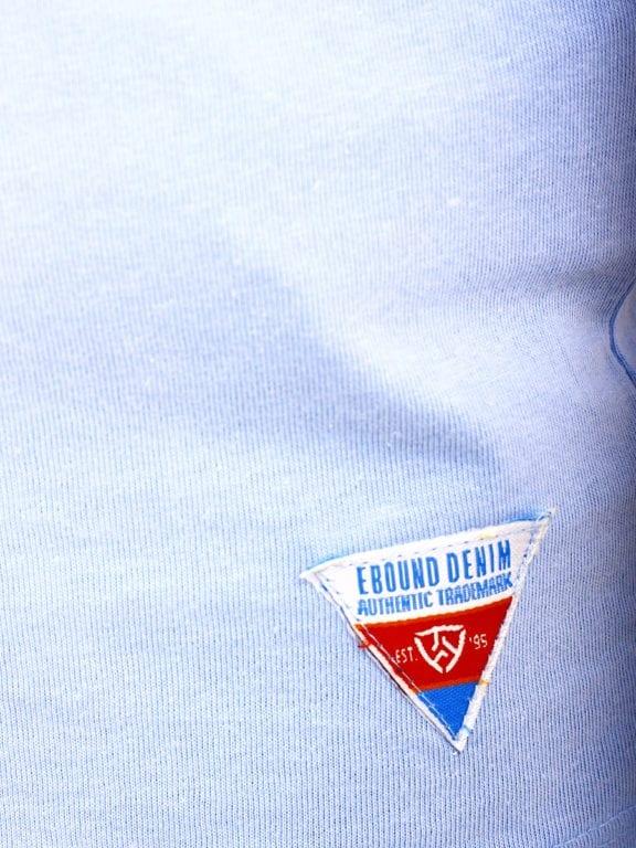 E-Bound shirt ronde hals California Malibu beach lichtblauw 145284 (13)
