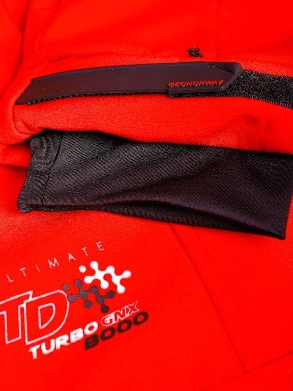 Geographical Norway softshell jas heren afneembare kraag rood Rumba waterdicht (3)