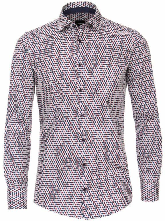 Venti bolletjes overhemd kent kraag strijkvrij 113728500-400 (1)