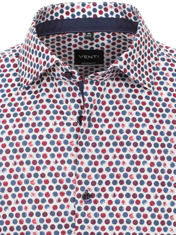 Venti bolletjes overhemd kent kraag strijkvrij 113728500-400 (3)