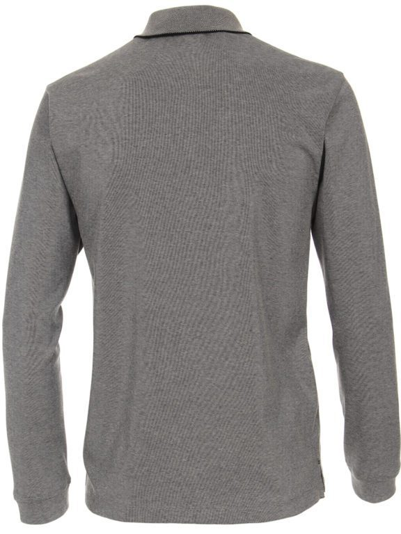 Casa Moda racing Poloshirt grijs lange mouw Le mans 413744900-774 (1)