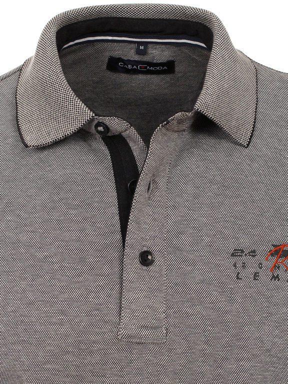 Casa Moda racing Poloshirt grijs lange mouw Le mans 413744900-774 (2)