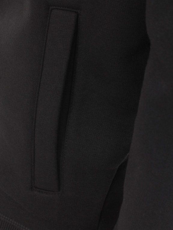 Casa Moda vest zwart met rits opstaande kraag CMS Sport 413707700-800 (8)