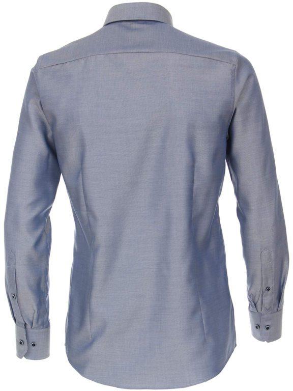Venti luxe overhemd blauw button dowm boord en strijkvrij 113726700-107 (2)