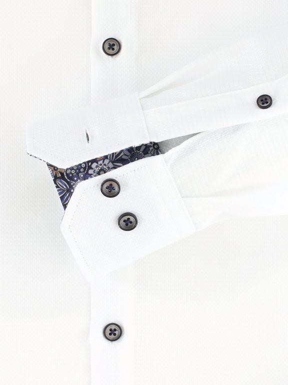 Venti luxe overhemd wit met bloemenmotief strijkvrij 113726100-001 (1)